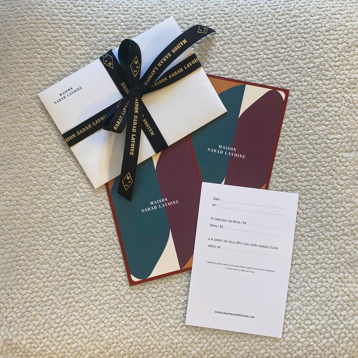 Carte cadeau Maison Sarah Lavoine